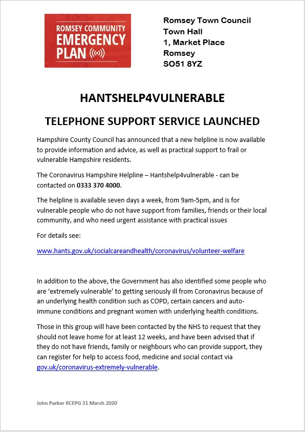 20200331 HantsHelp4Vulnerable