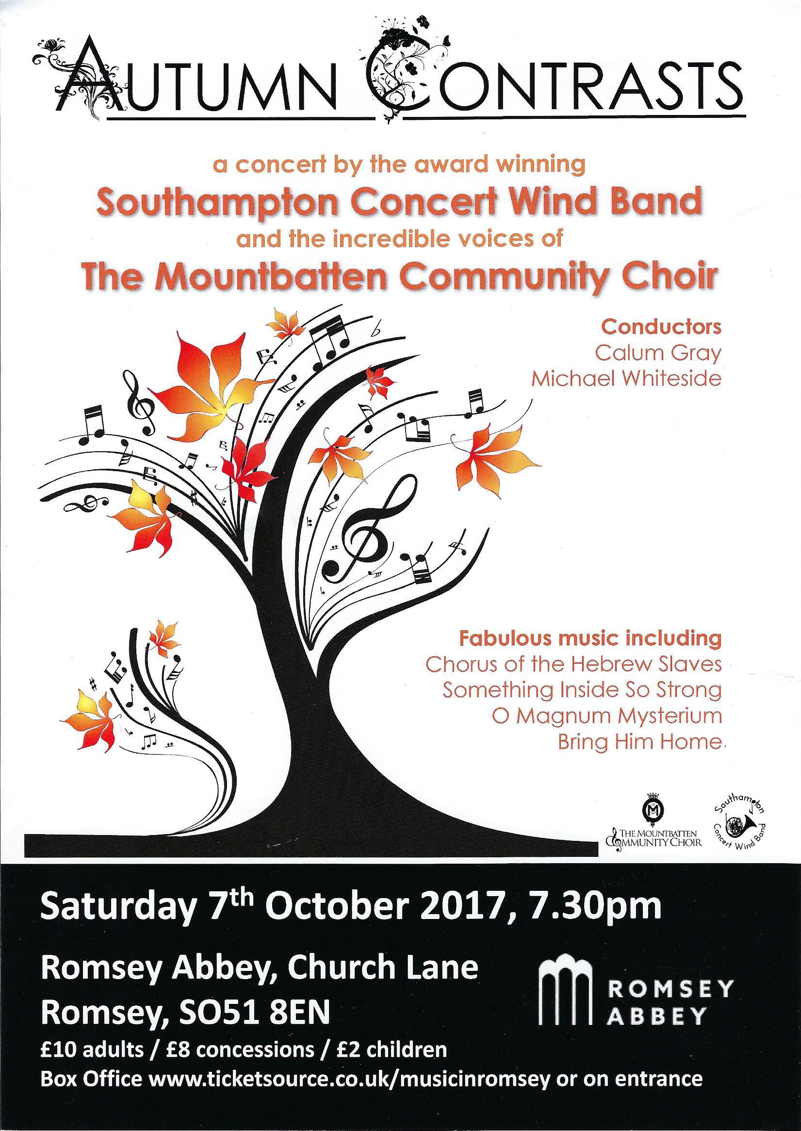 Mountbatten Community Choir 7 October